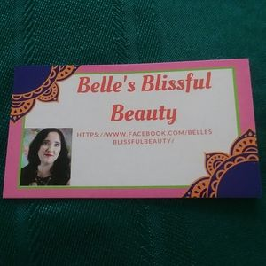 Other - Check out Belles Blissful Beauty
